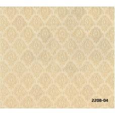 Bossini 2208-04 Dore Damask Desenli Duvar Kağıdı