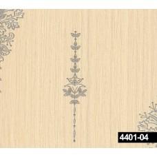 Crown 4401-04 Serpme Damask Desenli Duvar Kağıdı