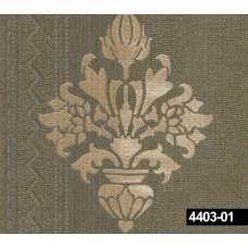 Crown 4403-01 Damask Görünümlü Duvar Kağıdı