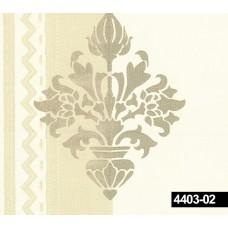Crown 4403-02 Vinil Damask Desenli Duvar Kağıdı