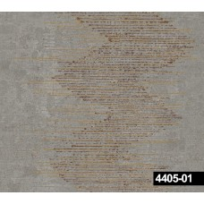 Crown 4405-01 Gri Geometrik Desen Duvar Kağıdı