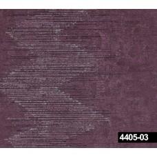 Crown 4405-03 Mor Zigzag Desenli Duvar Kağıdı