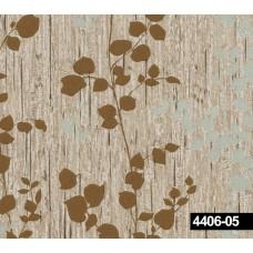 Crown 4406-05 Çiçekli Vinil Duvar Kağıdı