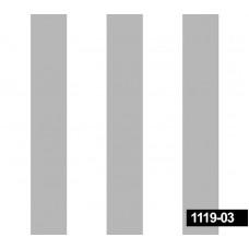 Decokids 1119-03 Gri Çizgili Non Woven Duvar Kağıdı