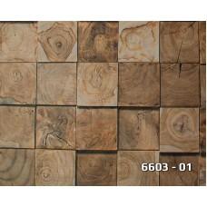 Lamos 6603-01 3D Ağaç Desenli Duvar Kağıdı
