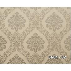 Lamos 6604-02 Vinil Damask Desenli Duvar Kağıdı