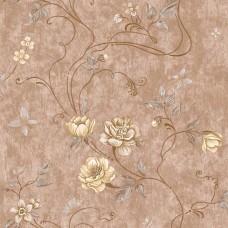 Classic 331-B Yerli Çiçek Desenli Duvar Kağıdı