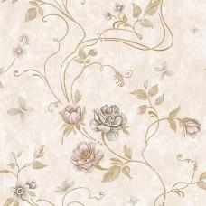 Classic 331-C Çiçek Görünümlü Yerli Duvar Kağıdı