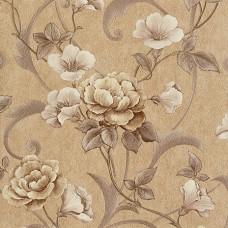 Dekor İmage 1247-D Çiçek Desenli Duvar Kağıdı