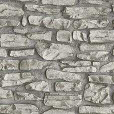 Dekor Life 810-B Vinil Taş Desenli Duvar Kağıdı