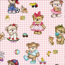New Art 1015-B Kız Bebek Odası Duvar Kağıdı