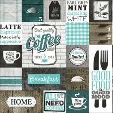 New Art 1038-B Coffee Duvar Kağıdı