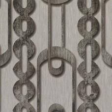Dekor Star 1850-D Geometrik Desenli Vinil Duvar Kağıdı