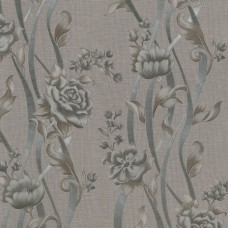 Dekor Star 1870-D Vinil Çiçekli Duvar Kağıdı
