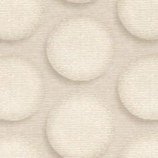 Design Plus 13151-2 Krem Halka Görünümlü Duvar Kağıdı