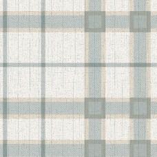 Freedom 14114-3 Yeşil Ekoseli Duvar Kağıdı