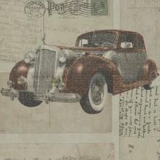 Freedom 14251-1 Araba Desenli Genç Odası Duvar Kağıdı