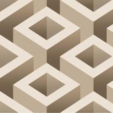 İnception 71133-2 Vinil 3D Küp Desenli Duvar Kağıdı