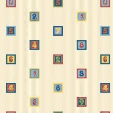 Kids Collection 15126-2 Rakam Desenli Çocuk Odası Duvar Kağıdı