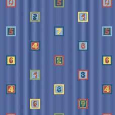 Kids Collection 15126-3 Renkli Rakamlar Çocuk Odası Duvar Kağıdı