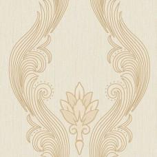 Novelty 11125-2 Vinil Krem Damask Duvar Kağıdı