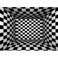 DLDP-002 Siyah Beyaz 3D Duvar Posteri