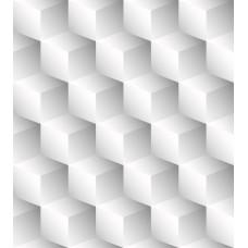 DLDP-014 Beyaz Küpler 3D Duvar Posteri
