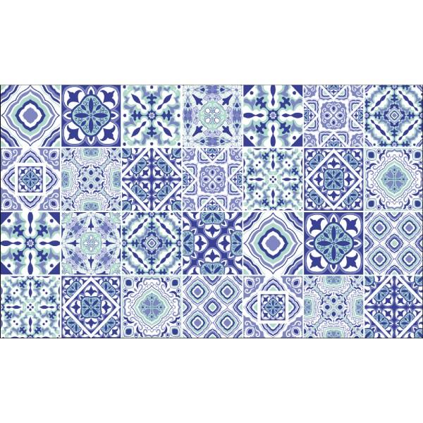 Elemental 42013-2 Motifli Çini Desen Duvar Kağıdı