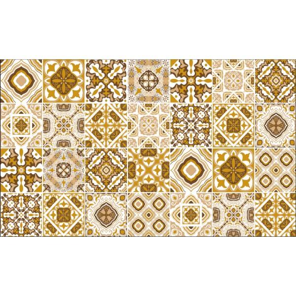 Elemental 42013-3 Desenli Kalebodur Görünümlü Duvar Kağıdı