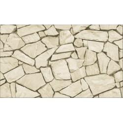 Elemental 42019-1 Krem Taş Desenli Duvar Kağıdı
