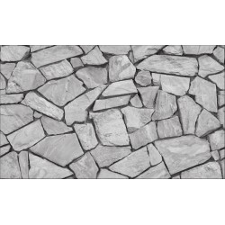 Elemental 42019-2 Gri Taş Desenli Duvar Kağıdı