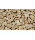 Elemental 42019-4 Taş Görünümlü Vinil Duvar Kağıdı