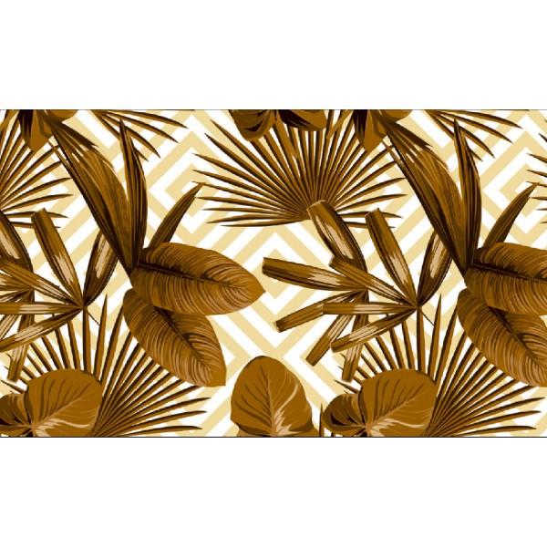 Elemental 42021-2 Yaprak Desenli Vinil Duvar Kağıdı