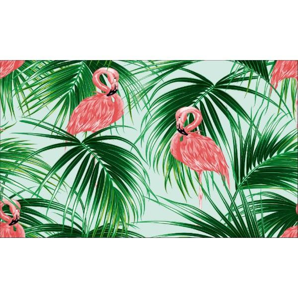 Elemental 42022-1 Flamingo Desenli Duvar Kağıdı