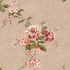 Flora 82030-6 Vinil Çiçekli Duvar Kağıdı