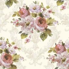 Flora 82031-1 Gül Desenli Duvar Kağıdı