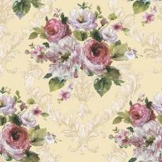 Flora 82031-3 Çiçek Desenli Duvar Kağıdı