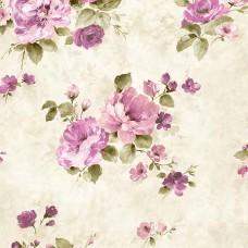 Flora 82032-1 Romantik Çiçekli Duvar Kağıdı