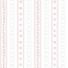 Floral Themes G23225 Pembe Çiçekli İthal Duvar Kağıdı