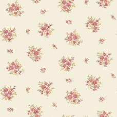 Floral Themes G23231 İthal Çiçek Görünümlü Duvar Kağıdı