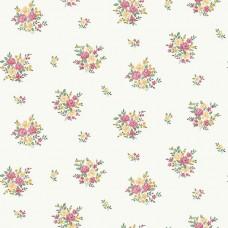Floral Themes G23235 İthal Çiçek Görünümlü Duvar Kağıdı
