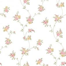 Floral Themes G23242 Çiçek Desenli İthal Duvar Kağıdı