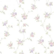 Floral Themes G23243 Lila Çiçek Görünümlü Duvar Kağıdı