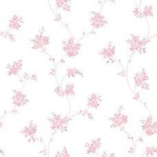 Floral Themes G23245 Pembe Çiçekli Duvar Kağıdı