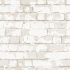Steampunk G56211 İthal Tuğla Desenli Duvar Kağıdı