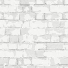 Steampunk G56212 Eskitme Tuğla Desenli Duvar Kağıdı