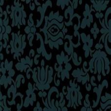 Gekkofix 10109 Siyah Damask Desen Kendinden Yapışkanlı Folyo