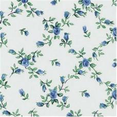 Gekkofix 11603 Mavi Çiçekli Kendinden Yapışkanlı Folyo