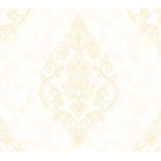 Nirvana 42012-1 Krem Damask Desenli Duvar Kağıdı