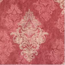 Flamingo 18154 Bordo Damask Desenli Duvar Kağıdı